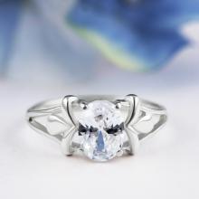 Елегантен сребърен пръстен