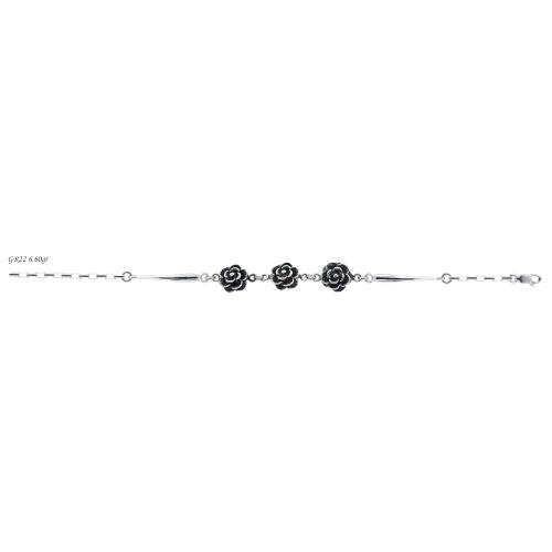 Сребърна гривна GR22