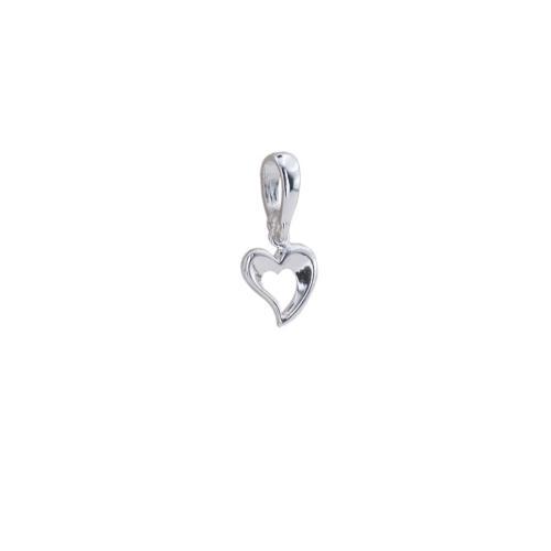 Сребърен Медальон във Формата На Сърце 7223