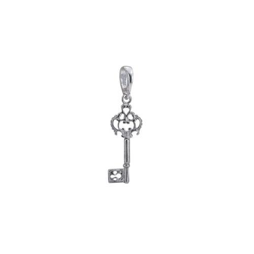 Сребърен медальон във формата на ключ 7228