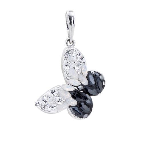 Сребърен медальон с кристали от Swarovski® SM289 Magic