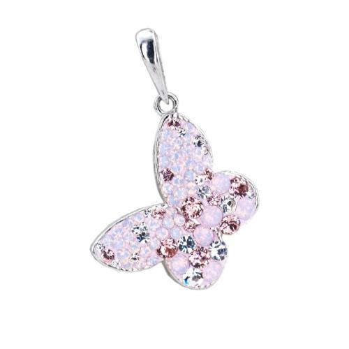 Сребърен медальон с кристали от Swarovski® SM289 Marilyn