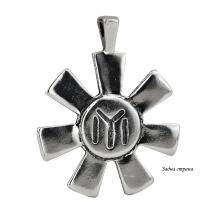 Сребърен медальон Розетата от Плиска 7247