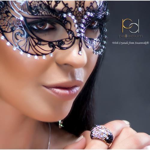 Сребърен пръстен с кристали от Swarovski®  SP654 Ralica
