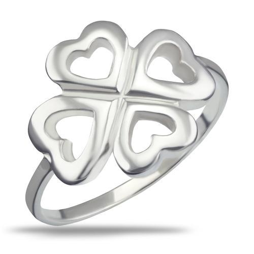 Сребърен пръстен 7610