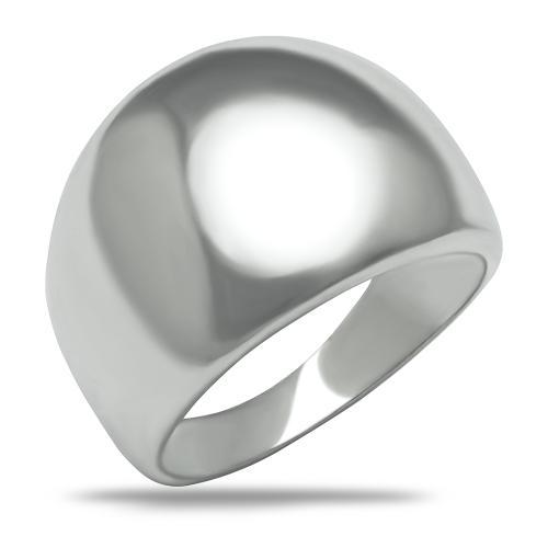 Масивен сребърен пръстен