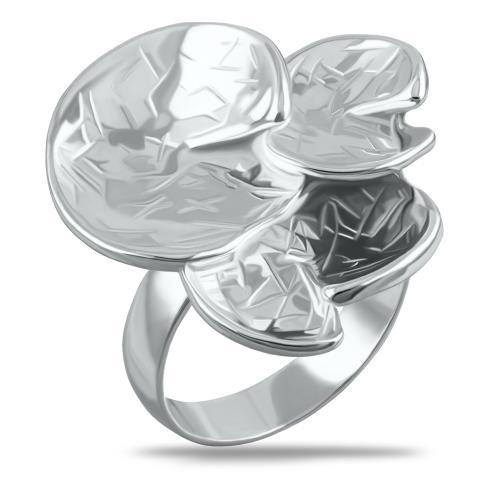 Сребърен пръстен детелина
