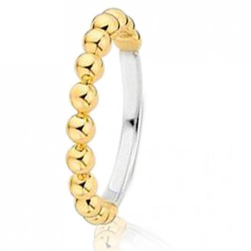 """Дамски златен пръстен """"Balls"""""""""""