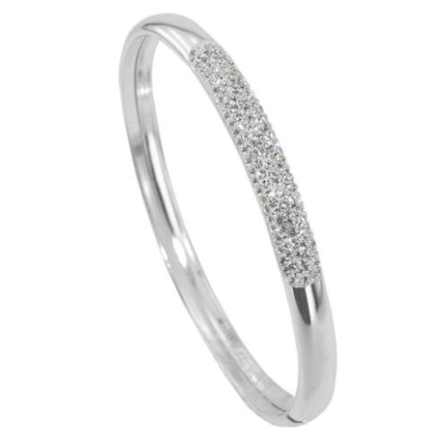 Сребърна гривна с кристали от Swarovski® SG413