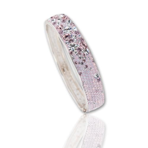 Сребърна гривна с кристали от Swarovski® SG417 Marilyn