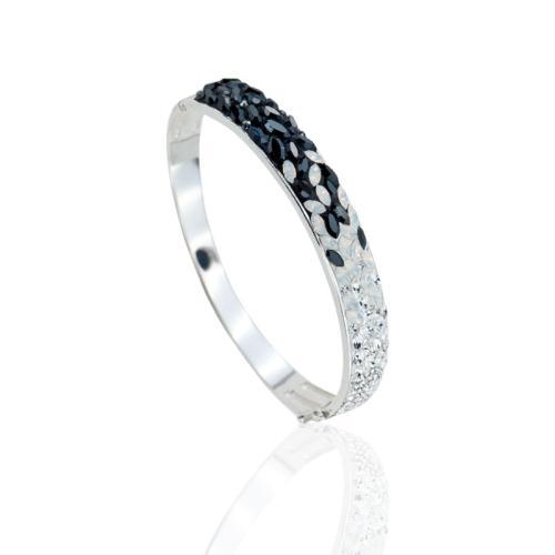 Сребърна гривна с кристали от Swarovski® SG428 Magic
