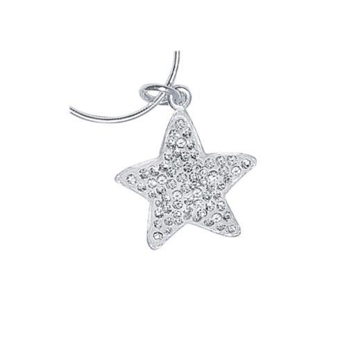 Сребърен медальон с кристали от Swarovski® SM208