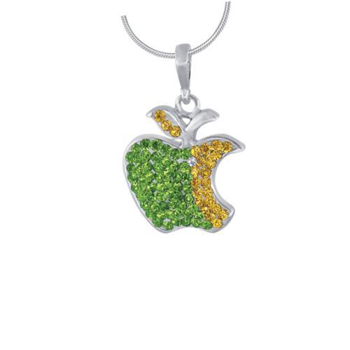 Сребърен медальон с кристали от Swarovski® SM225