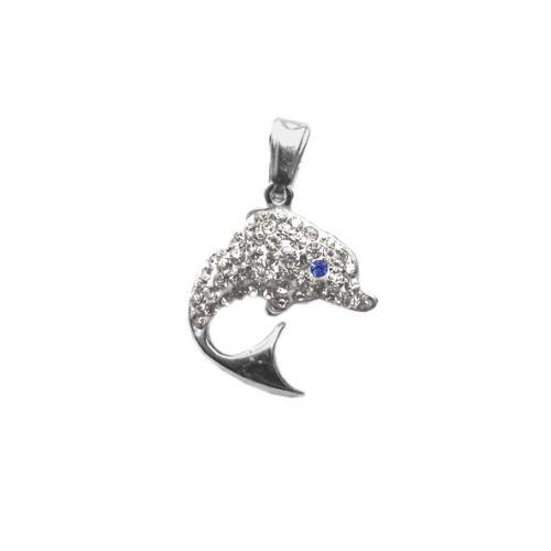Сребърен медальон с кристали от Swarovski® SM228 Crystal