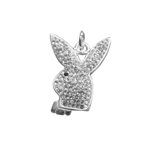 Сребърен медальон с кристали от Swarovski® SM237