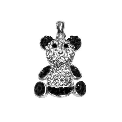 Сребърен медальон с кристали от Swarovski® SM242