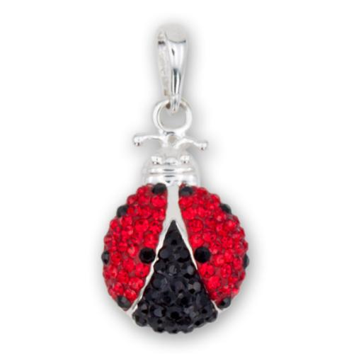Сребърен медальон с кристали от Swarovski® SM261