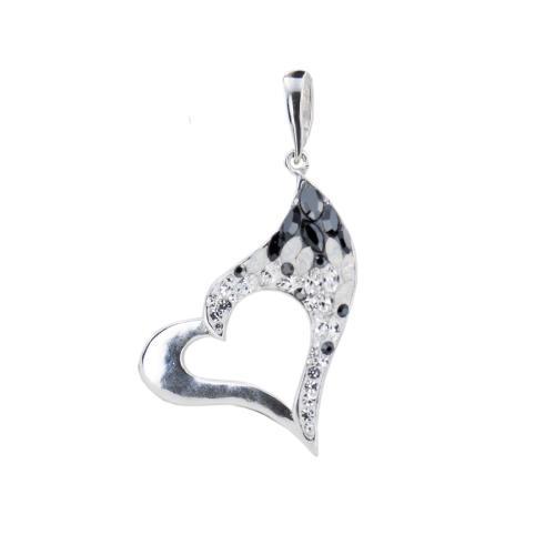 Сребърен Медальон С Кристали От Swarovski® SM267 Magic