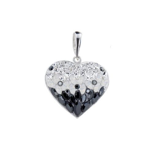 Сребърен медальон с кристали от Swarovski® SM270 Magic