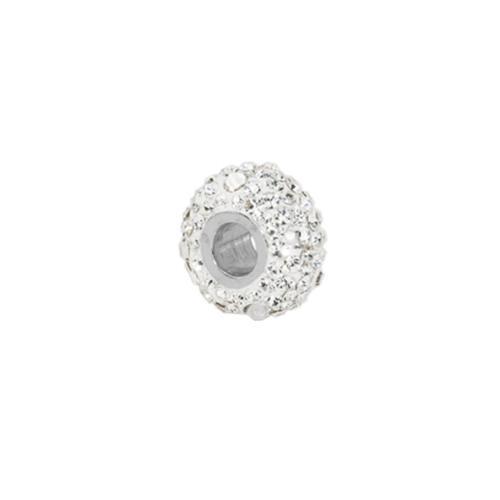 Сребърен медальон с кристали от Swarovski® SM271