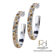 Сребърни обеци с кристали от Swarovski® SO308 Marilyn