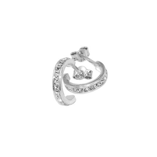 Сребърни обеци с кристали от Swarovski® SO317 Crystal