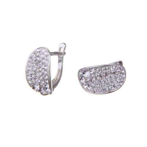 Сребърни обеци с кристали от Swarovski® SO320 Crystal Boutique