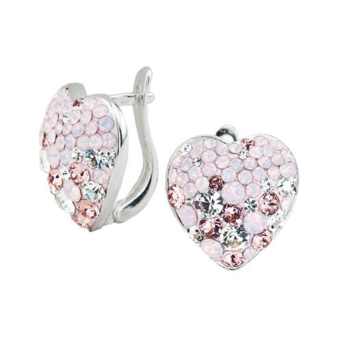 Сребърни обеци с кристали от Swarovski® SO323 Marilyn