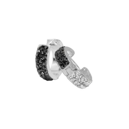 Сребърни обеци с кристали от Swarovski® SO351