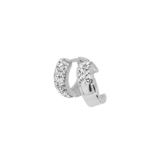Сребърни обеци с кристали от Swarovski® SO352