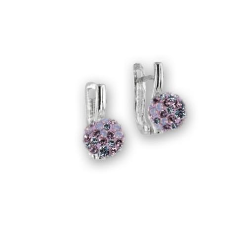 Сребърни обеци с кристали от Swarovski® SO360 Marilyn