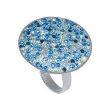 Сребърен пръстен с кристали от Swarovski® SP600 Zebra