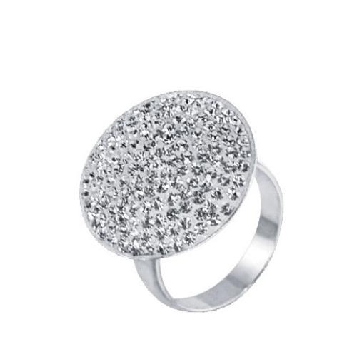 Сребърен пръстен с кристали от Swarovski® SP601Crystal