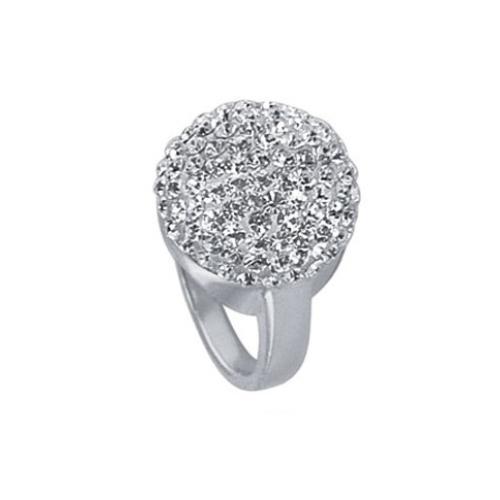 Сребърен пръстен с кристали от Swarovski® SP602 Crystal