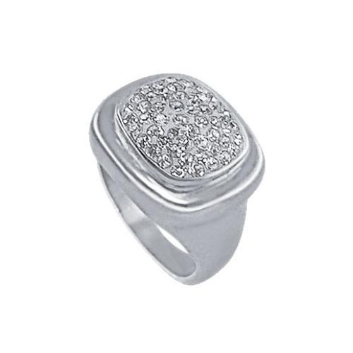 Сребърен пръстен с кристали от Swarovski® SP614 Crystal