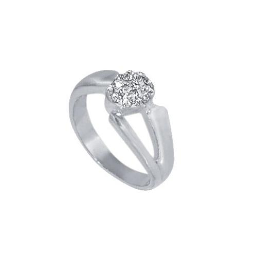Сребърен пръстен с кристали от Swarovski®  SP615