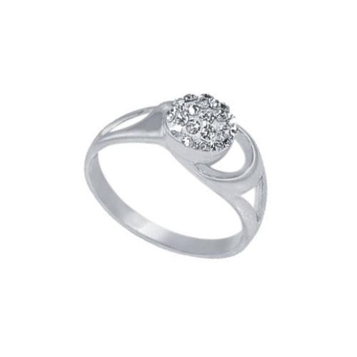 Сребърен пръстен с кристали от Swarovski®  SP617