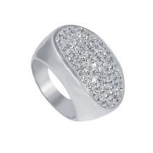 Сребърен пръстен с кристали от Swarovski® SP621 Multicolor