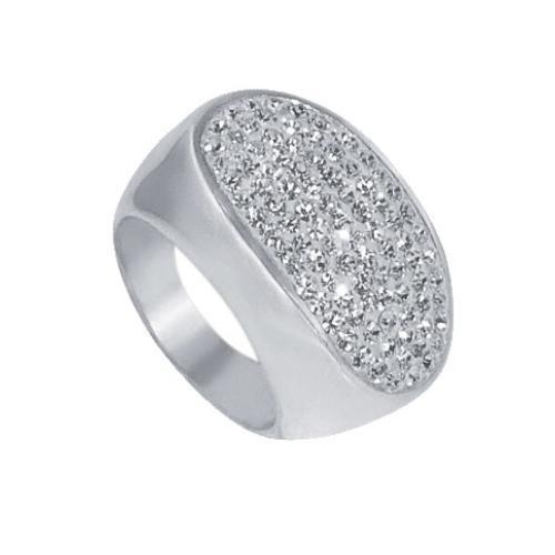 Сребърен пръстен с кристали от Swarovski®  SP621