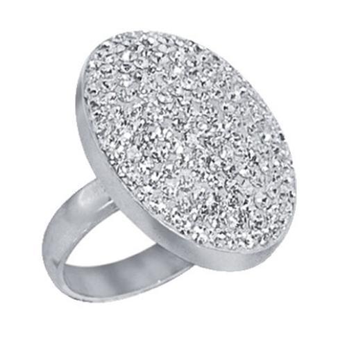 Сребърен пръстен с кристали от Swarovski®  SP624