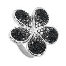 Сребърен пръстен с кристали от Swarovski®  SP631 Crystal