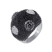 Сребърен пръстен с кристали от Swarovski®  SP634 Color