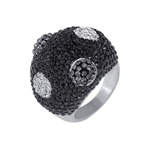 Сребърен пръстен с кристали от Swarovski®  SP634