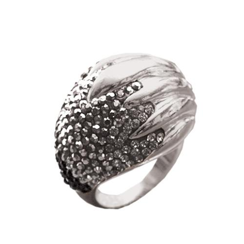 Сребърен пръстен с кристали от Swarovski®  SP637