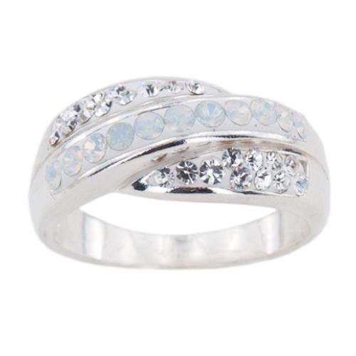 Сребърен пръстен с кристали от Swarovski®  SP642