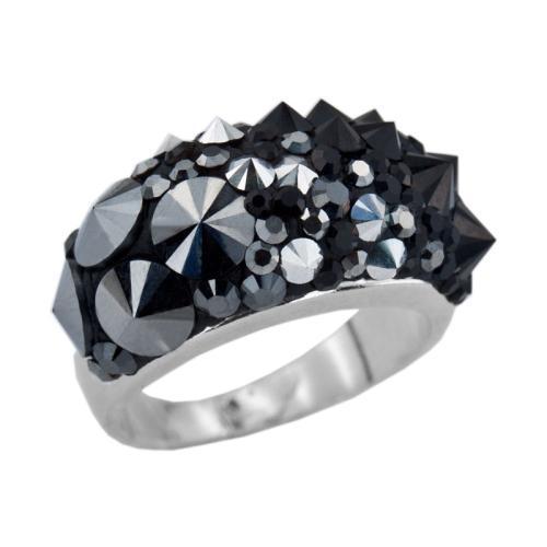 Сребърен пръстен с кристали от Swarovski®  SP653 Gaga