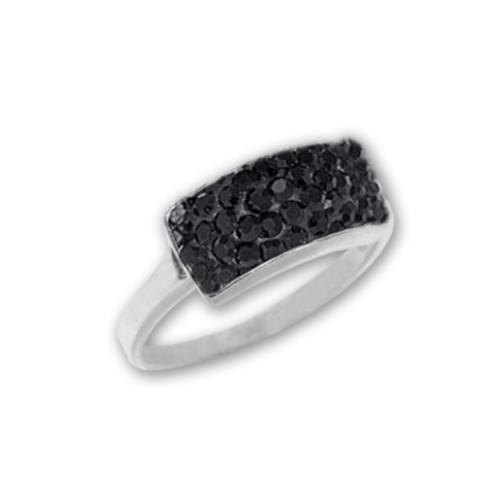 Сребърен пръстен с кристали от Swarovski®  SP659