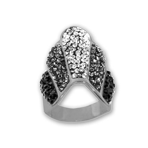 Сребърен пръстен с кристали от Swarovski®  SP665