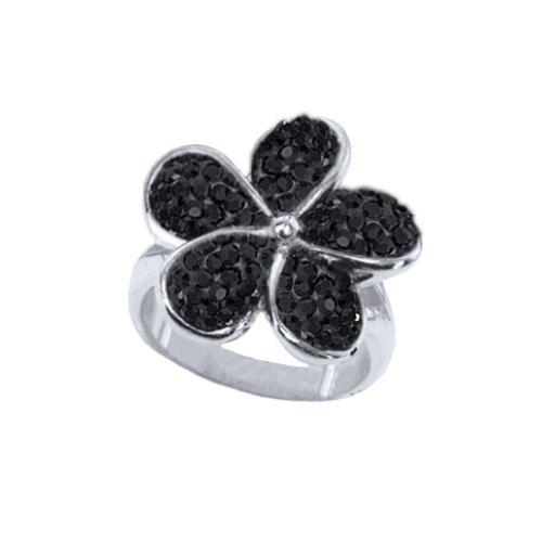 Сребърен пръстен с кристали от Swarovski®  SP675