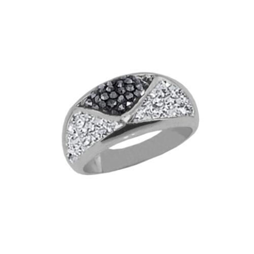 Сребърен пръстен с кристали от Swarovski®  SP676